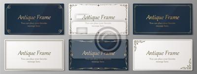 Plakat ウエディングカードデザイン、ビンテージな装飾、アンティークな線、優美な模様