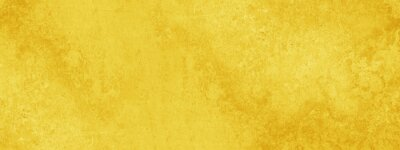 Plakat Yellow abstract stone concrete paper texture background banner panorama.