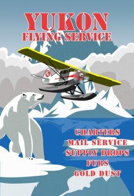 Plakat Yukon Flying Service
