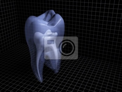 Plakat ząb