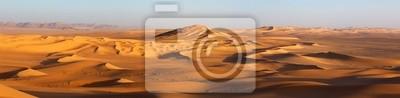 Plakat Zachód słońca na Saharze