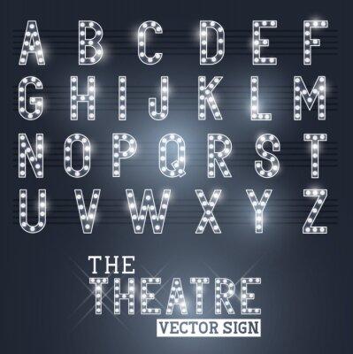 Plakat Zaloguj Showtime Teatr i Alfabet