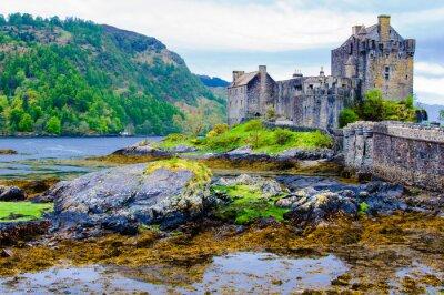 Plakat Zamek Eilean Donan w Szkocji, Wielkiej Brytanii