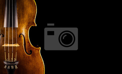 Plakat Zamknij skrzypce