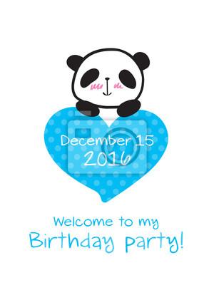 Plakat Zaproszenie Na Imprezę Dla Dzieci Zaproszenie Na Urodziny Z