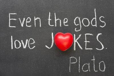 Plakat żarty miłość