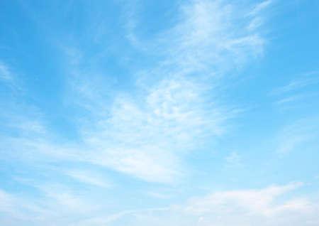 Plakat Zdecydowana błękitne niebo i chmury niebo