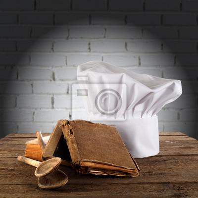 Plakat zdjęcie kuchni czapce