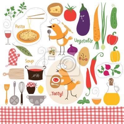 Zdrowe Odzywianie Zywnosc Grafiki Collection Plakaty Redro