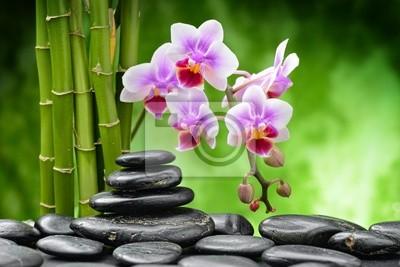 Plakat zen kamienie