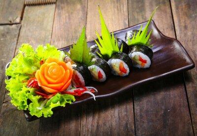 Plakat Zestaw sushi