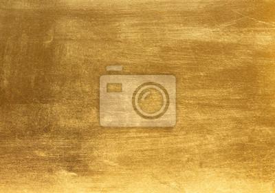 Plakat złoto