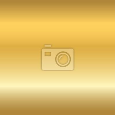 Plakat Złoto tekstury bez szwu. Światło realistyczne, błyszczący, metaliczny złoty pusty szablon gradientu. Streszczenie metalu dekoracji. Projektowanie na tapetę, tło, opakowania, tkaniny itp ilustracji wek