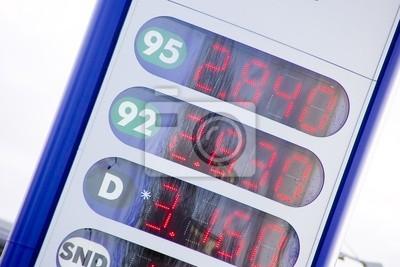 Znak Cena benzyny