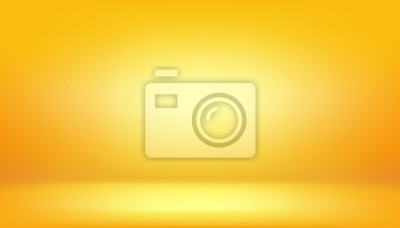 Plakat żółte tło, abstrakcyjne studio gradientu i ściany tekstury wektor i ilustracji, może być używany przedstawiony produkt