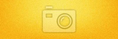 Plakat Żółty Tkanina Denim tle