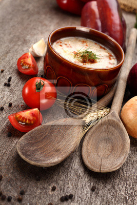 Plakat zupa