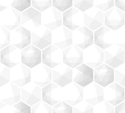 Tapeta Abstrakcjonistycznego heksagonalnego tła siatki geometryczny wzór