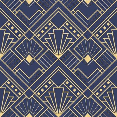 Tapeta Abstrakcyjny wzór w stylu art deco 03