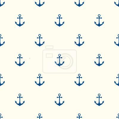 Tapeta ahoy Kotwice