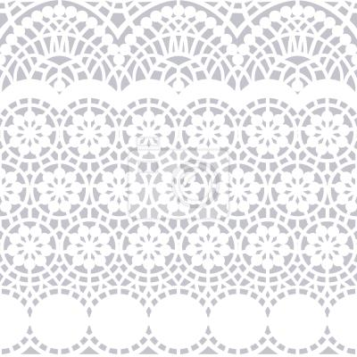 Tapeta Alhambra Bialy