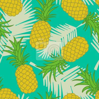 Tapeta ananas Tropicana