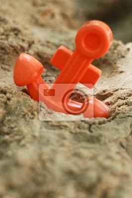 anchor zabawki w piasku