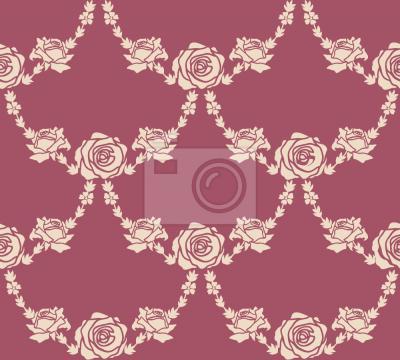 Tapeta Angielska Róża Natura