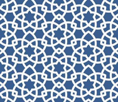 Tapeta Arabski ozdobnych tle - bez szwu perski wzór stylu