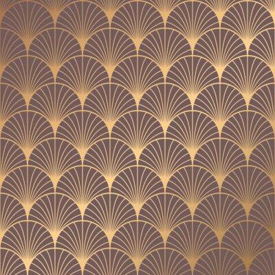 Tapeta Art Deco Pattern