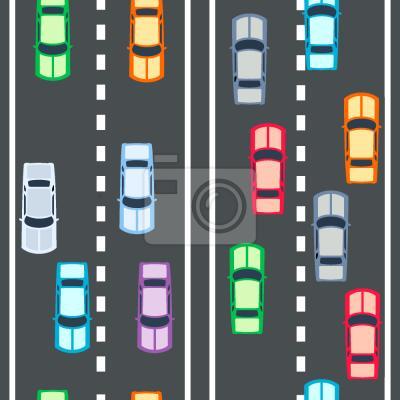 Tapeta Autostrada szybkobieżna