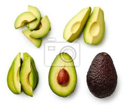Avocado całe i krojone