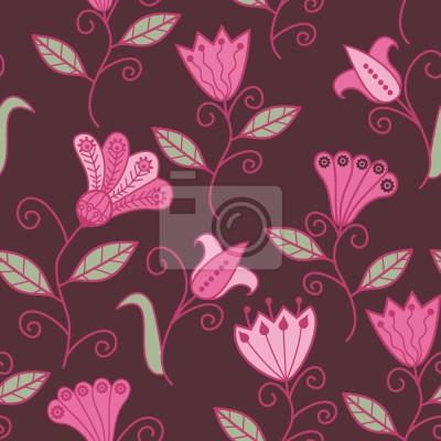 Tapeta Bajkowe Magiczne Kwiaty