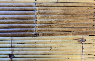 Tapeta Bamboo striped pattern