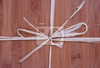 Tapeta Bamboo struktura drewna jako prezent