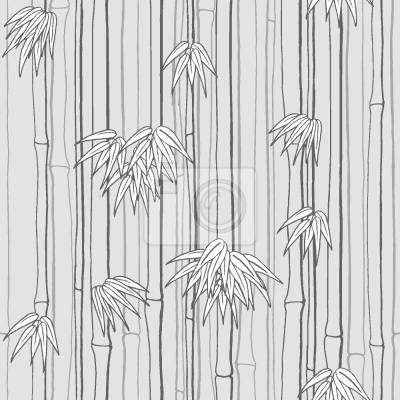 Tapeta Bamboo Woods Szary