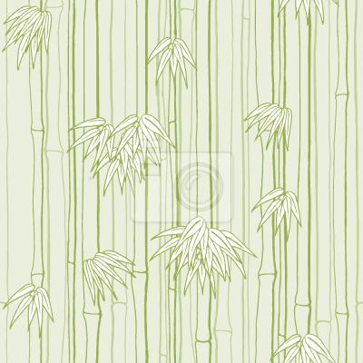Tapeta Bambusowe Drzewa