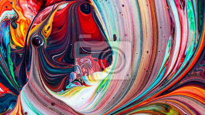 Tapeta Beautiful acrylic color abstract background