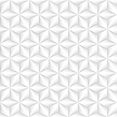 Tapeta Bez szwu Monochromatyczny Wzór. Grungy Geometryczne Kształty Dachówka.