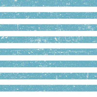 Tapeta Bez szwu tła morskiego. Niebieskie linie grunge wzorca
