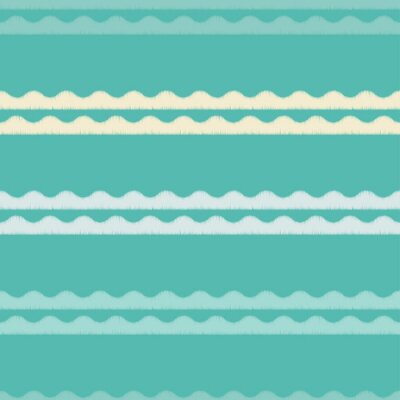 Tapeta Bez szwu tła z abstrakcyjna geometryczny wzór. Fala tekstury. Teksturą skurczową. Konserwacja tkanin.