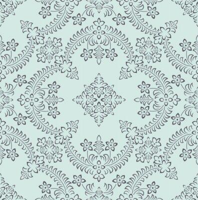 Tapeta Bezszwowa bogata indyjska kwiecista tapeta