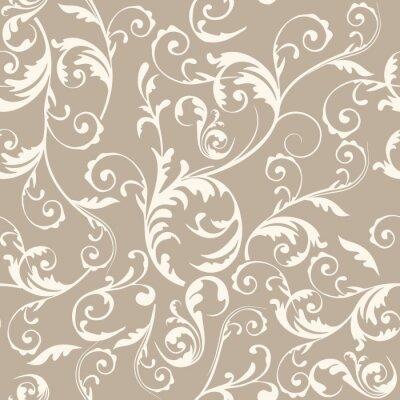 Tapeta Bezszwowe tło wzór kwiatowy