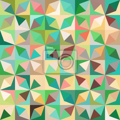 Tapeta bezszwowe tło z abstrakcyjnych kształtów