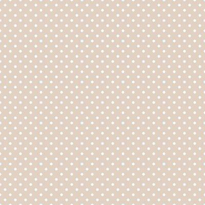 Tapeta Bezszwowe wzory Dots Dark Beige