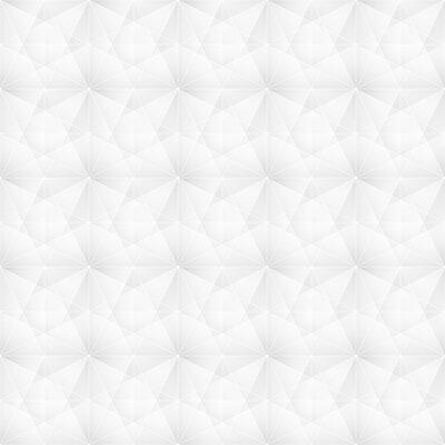 Tapeta Białe tło geometryczne siatki Nowoczesne ciemne streszczenie tekstura