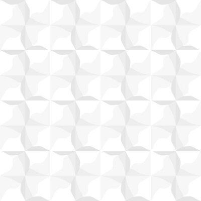 Tapeta Biały Bez Szwu Trójkąt Kwadratowy