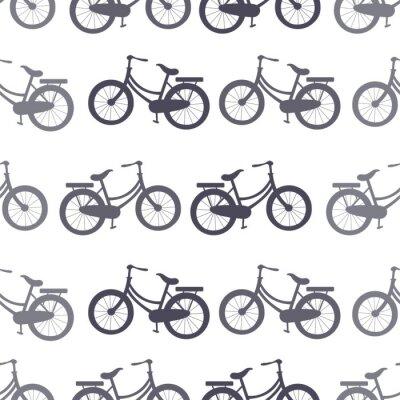 Tapeta bicycle Seamless Pattern wallpaper background vector