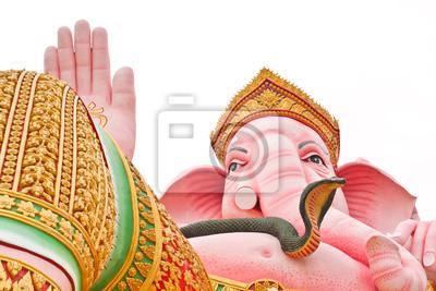 Tapeta Big posąg Ganesh bliska
