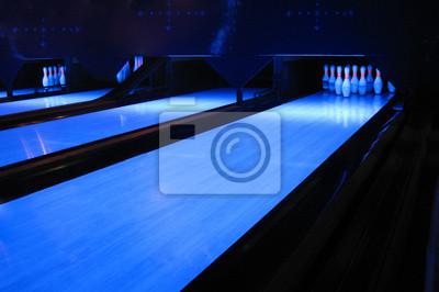 Tapeta Bowling-Bahn
